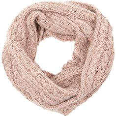 Accessorize Cable Snood ($12) ❤ liked on Polyvore featuring accessories, scarves, accessorize scarves, long shawl, long scarves, cable knit shawl and snood scarves