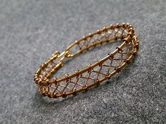 Wire knot bracelet - How to make wire jewelery 229 - YouTube