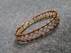 Wire knot bracelet - How to make wire jewelery 229 - YouTube