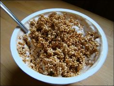 Another Quinoa Granola Recipe :)