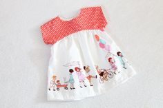 The Eleanor Tunic or Dress in Children on Parade by TheKissesCo
