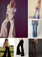 Free People   Do I hear bells?   Bellbottoms, flares, oh my!