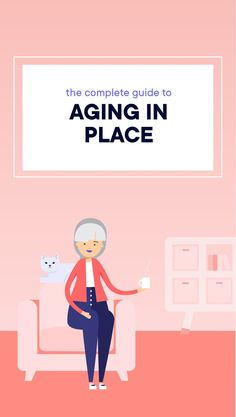 There's no place like home. So use this guide to help a senior loved one assess and update their home to make it safe and comfortable enough for them to continue to live there as they age. Elderly Activities, Dementia Activities, Craft Activities, Physical Activities, Home Care Agency, Old Folks, Aging Parents, Aging In Place
