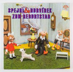 """DDR Museum - Museum: Objektdatenbank - """"LP Spejbl und Hurvinek"""" Copyright: DDR Museum, Berlin. Eine kommerzielle Nutzung des Bildes ist nicht erlaubt, but feel free to repin it!"""