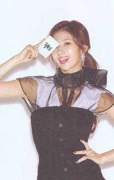 '[scan] yes or yes version c' Nayeon, South Korean Girls, Korean Girl Groups, Twice Korean, Sana Minatozaki, All About Kpop, Twice Once, Twice Sana, Dahyun