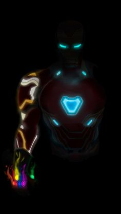 Wallpaper Disney - Iron Man Mark 85 Neon Armor iPhone Wallpaper - Wildas Wallpaper World Marvel Comics, Marvel Art, Marvel Heroes, Marvel Avengers, Iron Man Kunst, Iron Man Art, Iron Man Wallpaper, Iron Man Avengers, Disney Wallpaper