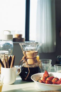 life with chemex.....A-mazing coffee!