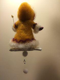 Nadel gefilzte Puppe Waldorf inspirierte Wolle von DreamsLab3