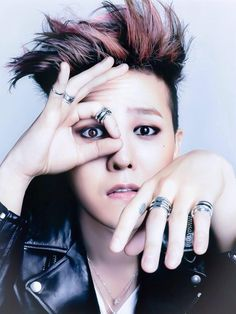 Big Bang G-Dragon - Elle Magazine February Issue