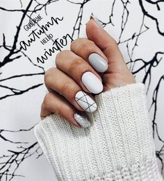 Awesome 35 Amazing Winter Nail Designs That Will Your Try http://outfital.com/2018/11/03/35-amazing-winter-nail-designs-that-will-your-try/