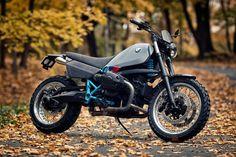 Renard's Retro-Futuristic BMW scrambler