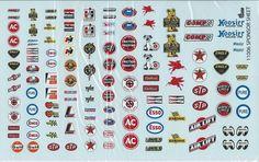 Gofer Racing 1 24 1 25 1 18 Scale Sponsor Decals Set 1 for Model Cars | eBay