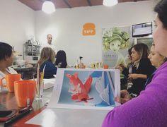 • Día 2 en #Rosario, #Argentina • Workshop con el 'Cerdito volador'