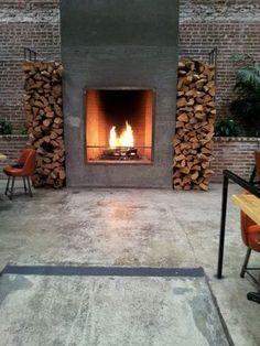 Backroom fireplace (very nice) | Yelp