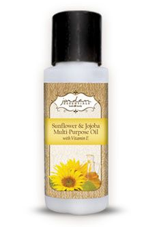 Jordan Essentials -  Feel like you are at the spa without leaving home. Rich in Vitamin E, Sunflower, Jojoba, Safflower, and Apricot Oils. Multi-Purpose Oil blends with Essential Oils for massage oil or creates a relaxing bath oil.  Unscented.      2 oz.    Helianthus Annus (Sunflower) Seed Oil, Carthamus Tinctorius (Safflower) Seed Oil, Prunas Armeniaca (Apriocot) Kernal Oil, Prunus Amygdalus Dulcis (Sweet Almond) Oil, Simmondsia Chinensis (Jojoba) Seed oil, Tocopheryl (Vitamin E), Acet...