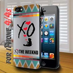 xo the weeknd - design case for iphone 4,4s | shayutiaccessories - Accessories on ArtFire