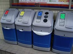 16 Interesting Recycle Bins Around World Recycling Station, Recycling Bins, Trash Collector, Facts For Kids, Garbage Can, Trash Bins, Kiosk, Zero Waste, Entrepreneurship