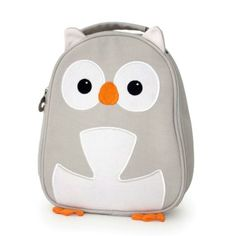 New eco-friendly lunchbags from Apple Park. This cute owl used to be 100 soda bottles!