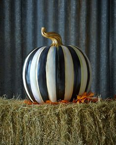 Courtly+Stripe+Large+Pumpkin+by+MacKenzie-Childs+at+Neiman+Marcus.