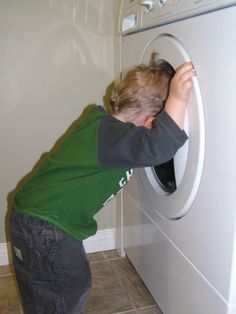 How to get rid of that stinky odor in washing machines!