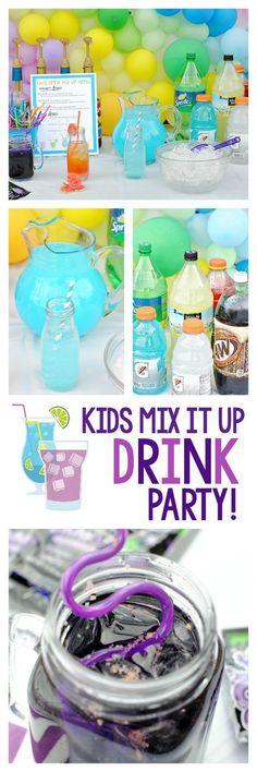 Fun Kid's Drink Party Ideas
