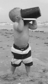 Beach Babe. Submitted by: Sarah Marcoulides @babycenter #bigdayout #getoutside