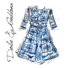 Continue to look for the perfect summer dress - blue perfection from @dolcegabbana #supergirl #dg #dgwomen #DGMaiolica #dolceandgabbana #art #arte #blue #draw #drawing #fashion #dress #fashionista #fashionillustrator #fashionillustration #ink #illustrator #inspiration #illustrator #instafashion #love #style #sketch #summer