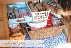 Organizing Like a Professional – Storage Tips and Organizing the Pantry for a Dream Pantry – Experience Of Pantrys Small Pantry Organization, Storage Organization, Pantry Ideas, Storage Ideas, Kitchen Pantry Design, Kitchen Tips, Secret Organizations, Neat And Tidy, Plastic Laundry Basket