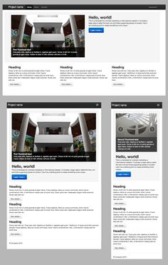 Responsive Web Design with Twitter Bootstrap 2.0