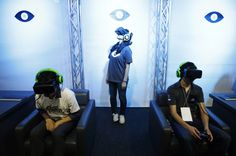 Image result for Virtual Reality installation