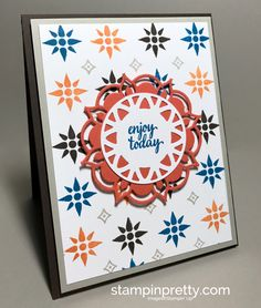 ORDER STAMPIN' UP! ON-LINE. Order Eastern Palace product bundles a month early & FREE bonus product! Beautiful Eastern Palace card idea!