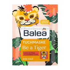 Balea Cloth Mask Be a Tiger | Get Some Beauty