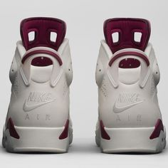"the best attitude 7c316 40097  NIKEAIR 2015 Remastered Air Jordan Retro 6 ""Maroon"" Jordan Retro 6, Air"