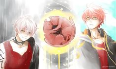 Saeran and Saeyoung Choi from Mystic Messenger