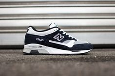 New Balance 1500 – White / Dark Navy Dark Navy, Navy And White, Asics, Trainers, Footwear, Mens Fashion, Sneakers, Tattoo, Clothes
