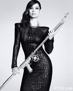 11 Former Bond Girls Share Their Favorite 007 Moments - Bérénice Marlohe from InStyle.com