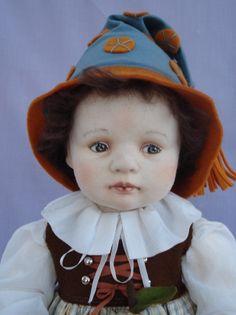 OOAK Artist Cloth Toddler by clothchick on Etsy teresa churcher