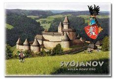 Řada dobových rekonstrukcí hradů a zámků České republiky - 10.   Nakladatelství PUTUJME - hrady, zámky a erby