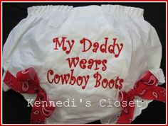 Kennedis Closet Girls Baby Monogrammed Bloomers by KennedisCloset, $15.95