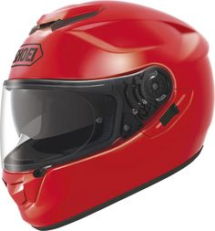 Shoei GT-Air Shine red.  Info: http://www.shoei-europe.com/it/products/GT-AIR/