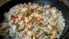 Ideas que mejoran tu vida Paella, Potato Salad, Rice, Favorite Recipes, Meat, Ethnic Recipes, Food, Detox, Fried Rice With Chicken