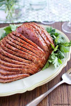 Honey Mustard Glazed Ham