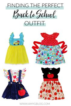 Looking for the perfect back to school dress? Take a look at these adorable and afordable options! School Dresses, Back To School Outfits, Last Day Of School, Tot School, New Outfits, Girl Outfits, Preschool Prep, Back To School Shopping, Kids Wear