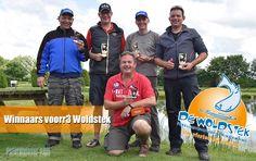 Winnaars 3e voorronde NK Forelvissen bij de Woldstek