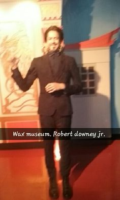 And the best for last......ROBERT DOWNEY JUNIOR!!!!!!!!! #IRONMAN #HollywoodWaxMuseum
