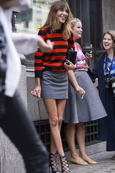 Une affaire de femmes -FlorenceEtta - chungit-up: Alexa Chung outside the Emilia...