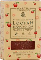 Earth Therapeutics PeachesPassion Bar Soap 4 oz Loofah *** Continue to the product at the image link.