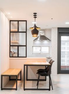 kr m view_port. Small Apartment Interior, Condo Interior, Apartment Design, Home Interior Design, Interior Decorating, Modern Tiny House, Cozy House, Home Kitchens, Home Furniture