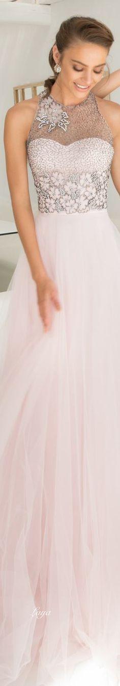 Beautiful #white and #gray #wedding dress
