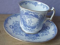 blue and white cup, tea sets - Google Search